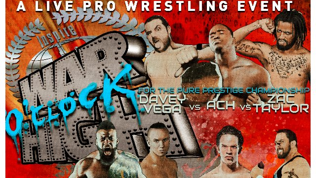 S5 E2: War O'Clock High [3.25.2018]- Inspire Pro Wrestling
