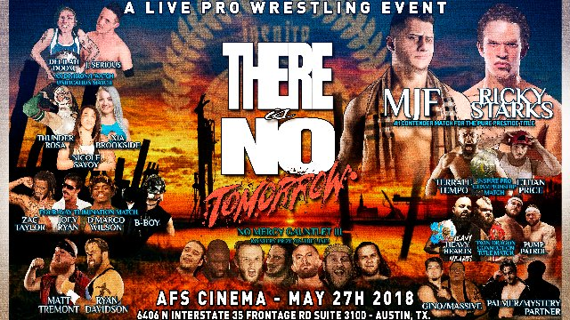 S5 E3: There Is No Tomorrow [5.27.2018]- Inspire Pro Wrestling