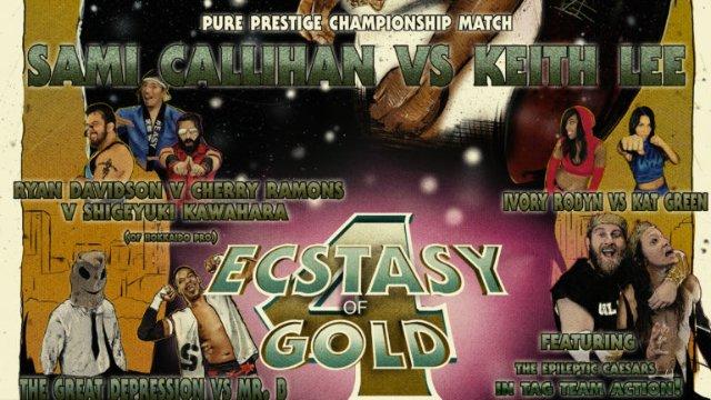 S4 E1: Ecstasy Of Gold IV [3.26.2017]- Inspire Pro Wrestling