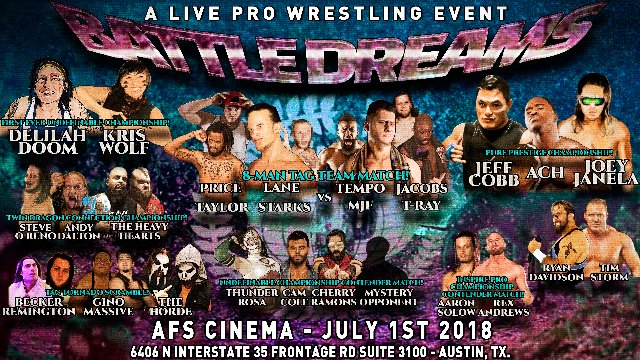 S5 E4: Battle Dreams [7.1.2018]- Inspire Pro Wrestling