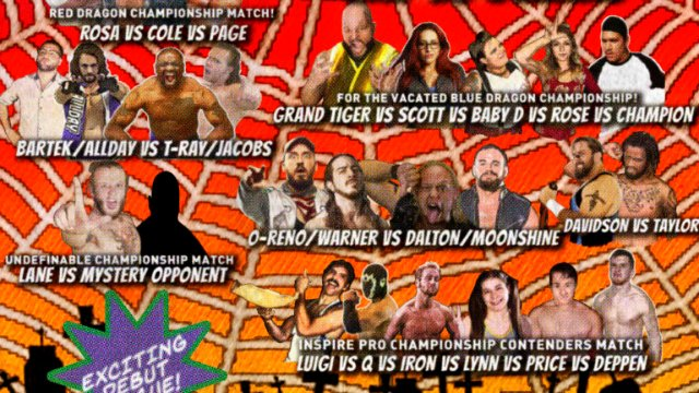 S6 E4: The Tangled Webs We Weave [7.14.2019]- Inspire Pro Wrestling