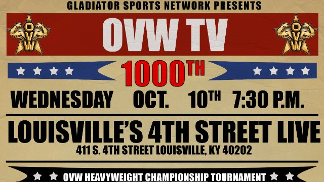 OVW TV 1000 Episode LIVE from Fourth Street Live!
