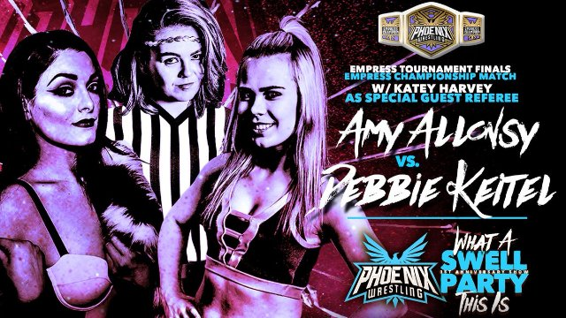 Amy Allonsy v Debbie Keitel - Empress Championship Final