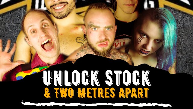 Unlock Stock & 2 meters apart
