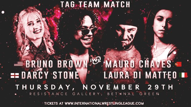 2. Laura Di Matteo & Mauro Chaves vs Bruno Brown & Darcy Stone