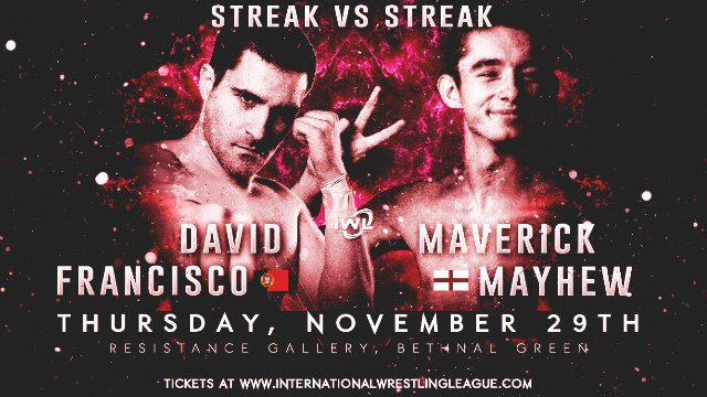 6. David Francisco vs Maverick Mayhew