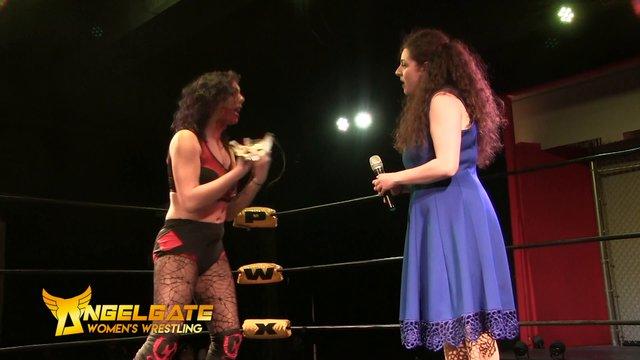 Anglegate Womens wrestling