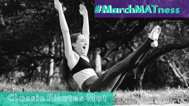 Beginner Mat Workout- Pilates Abs- MarchMatness