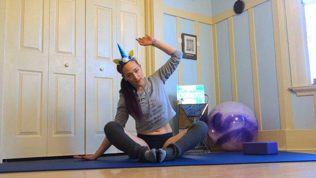 Yoga Pilates Core & Mobility Unicorn Workout