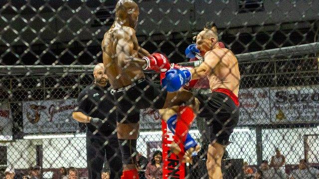 NLC3: Andre Williams vs Mark Faherty, Kickboxing