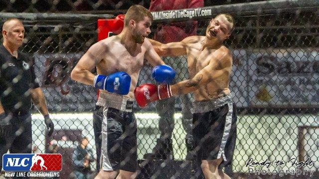 NLC3: Lukas Spaulding vs Bobby New, Boxing