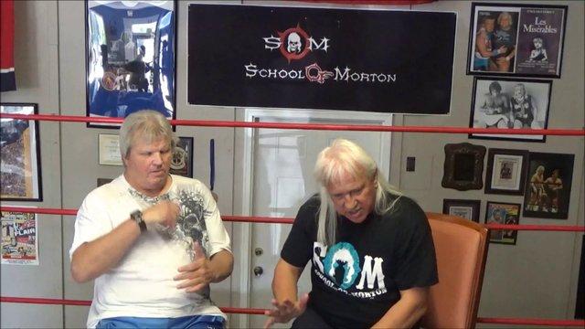 Ricky Morton Bobby Eaton Shoot