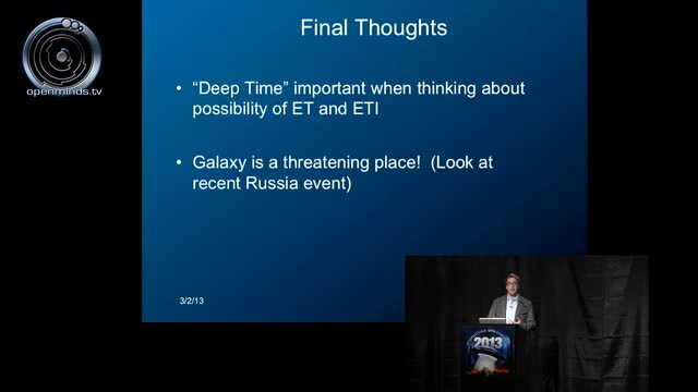 """Ben McGee - Galactic Deep Time, Xenoarchaeology, and the Case for Physical Artifacts as """"First Contact"""""""