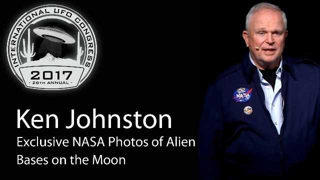 Ken Johnston - Exclusive NASA Photos of Alien Bases on the Moon