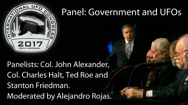 Panel: Government and UFOs