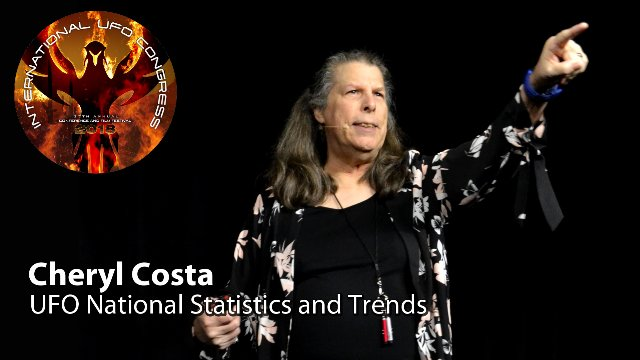 Cheryl Costa - UFO National Statistics and Trends