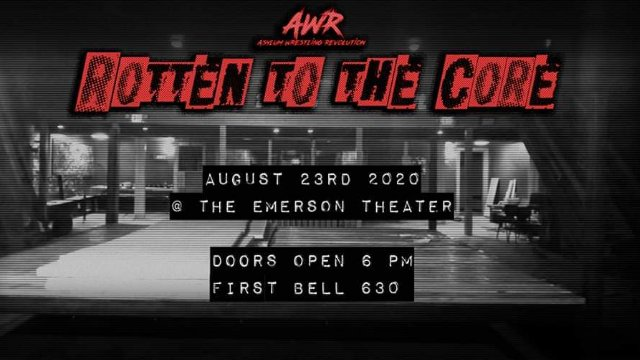 AWR Presents - Rotten 2 The Core
