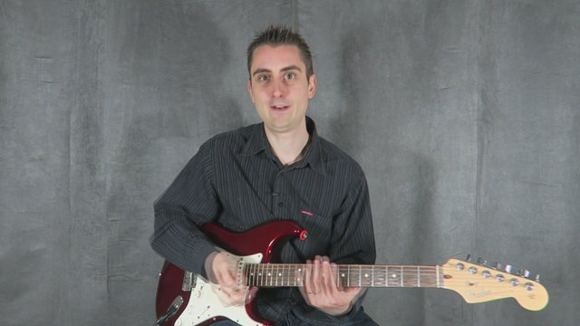 Basic Lead Guitar Picking Exercise