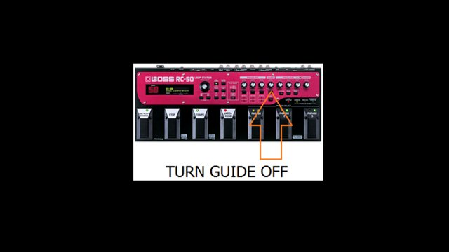 Turn Down Guide Track!