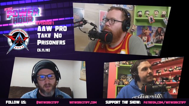 WWS Power Hour 1: AAW Pro - Take  No Prisoners