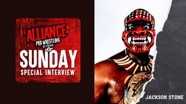 "The Alliance Pro Wrestling Network Sunday Special Interview Presents ""Suplex Shogun"" Jackson Stone"