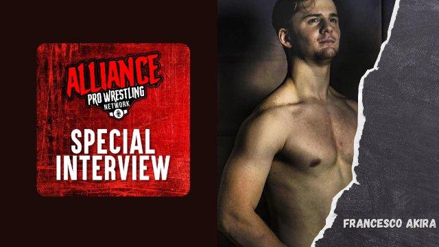 The Alliance Pro Wrestling Network welcomes AJPW World Jr Heavyweight Champion Francesco Akira