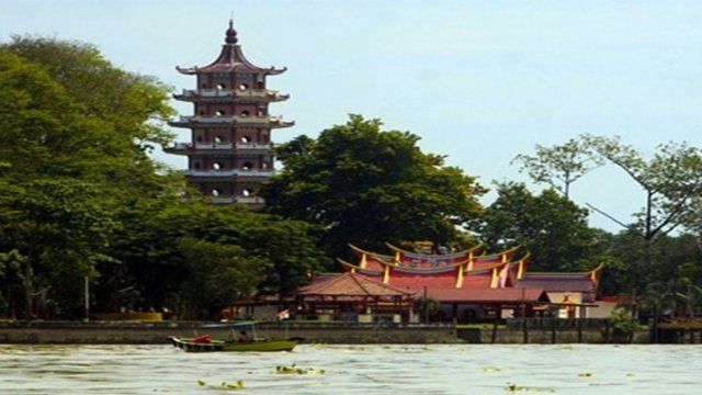 Palembang River City Footages