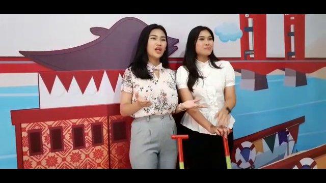 BTS Greeting Gadis Palembang for Channel