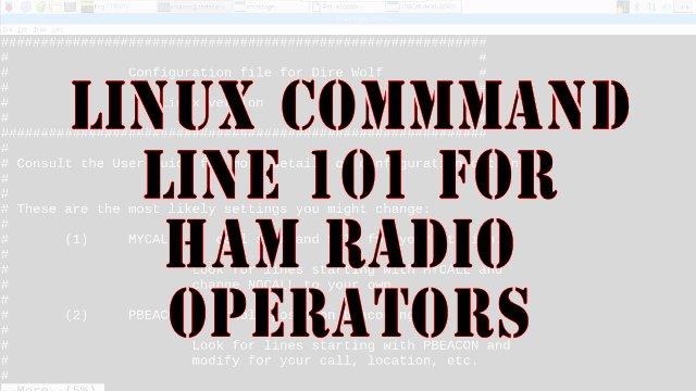 Linux 101 for Ham Radio Operators