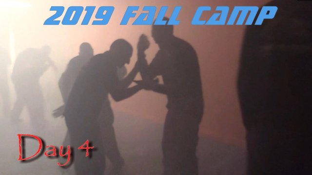 2019 Fall Camp Day 4-Chaos Drilling