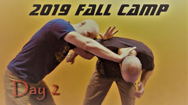 Fall 2019 Restraint and Control Camp Day 2: Stand Up Control