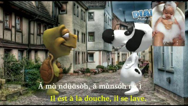 Ǒ mɑ̀ hɑ̄ : Où es-tu?