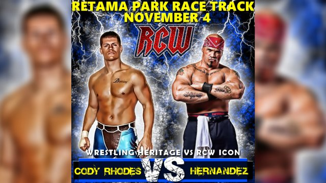 "Cody Rhodes vs. ""Super-Mex"" Hernandez"