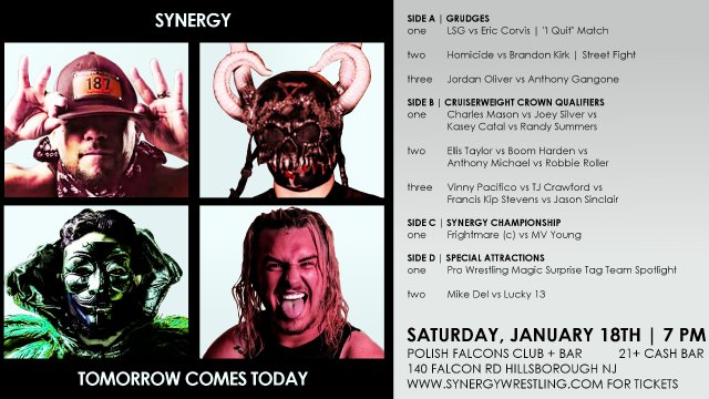 Tomorrow Comes Today 2020 | Synergy Pro Wrestling