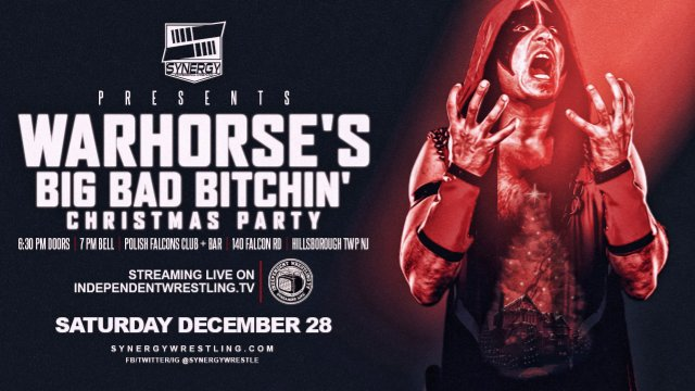 Warhorse's Big Bad B*tchin' Christmas | Synergy Pro Wrestling 2019