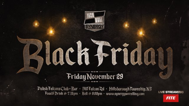 Black Friday '19 | Synergy Pro Wrestling 2019