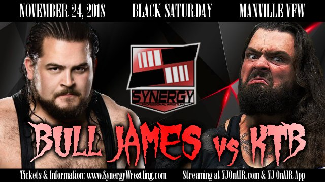 Bull James vs KTB | Synergy Pro Wrestling