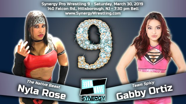 Nyla Rose vs Gabby Ortiz | Synergy Pro Wrestling