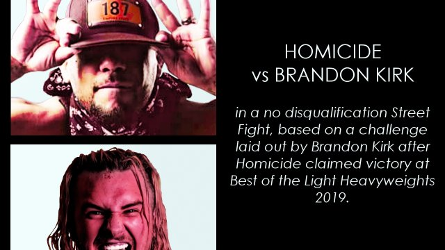 Homicide vs Brandon Kirk, Street Fight | Synergy Pro Wrestling