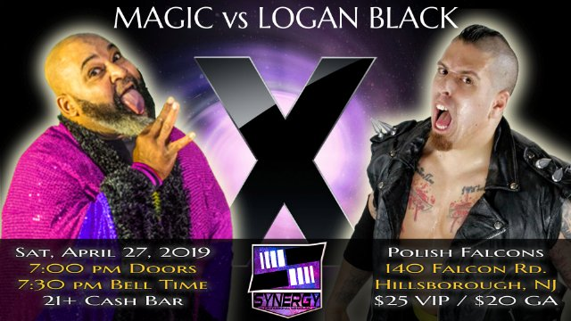 Logan Black vs Magic | Synergy Pro Wrestling