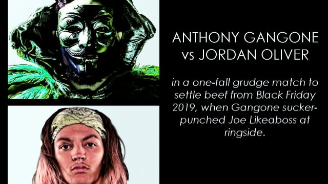 Jordan Oliver vs Anthony Gangone | Synergy Pro Wrestling