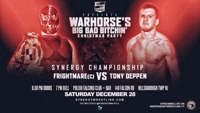 Frightmare vs Tony Deppen | Synergy Pro Wrestling