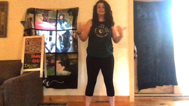 Island Adventure Kids Yoga Practice By Miss Britt  (10.42min.)