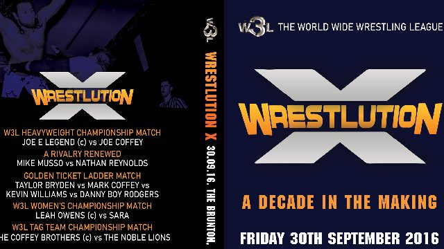 W3L Wrestlution X