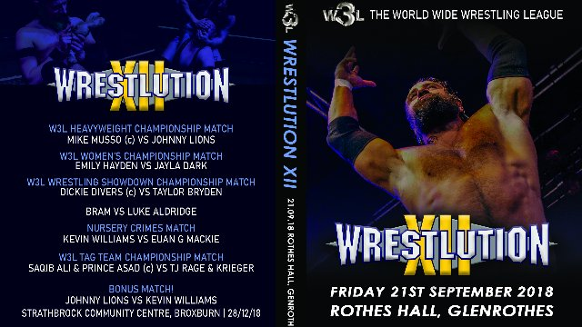 W3L Wrestlution XII (2018)