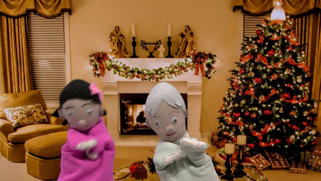 Boneka Natal Gembira 1