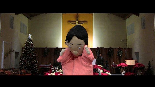 Boneka Natal Gembira 2