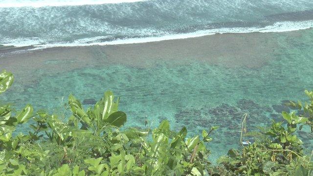 Bali private beach and the Ocean