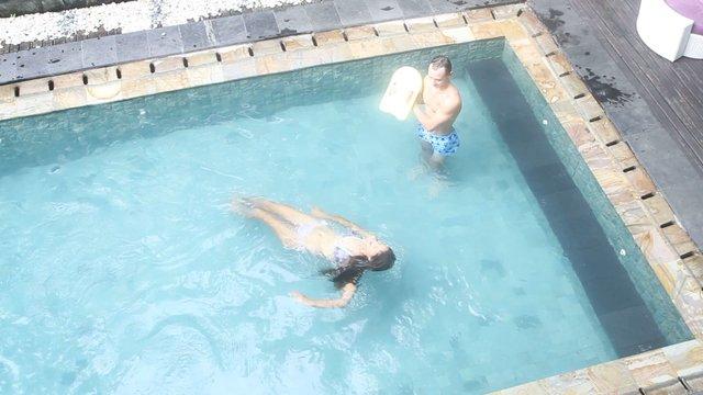 Learning swim
