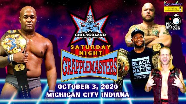 Chicagoland Championship Wrestling: Saturday Night Grapplemasters